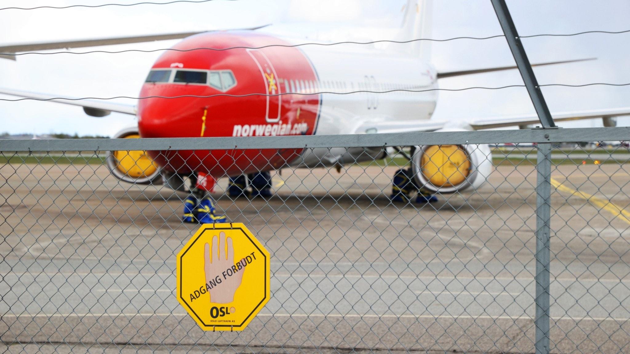 Inställda flyg efter Norwegians beslut om permitteringar