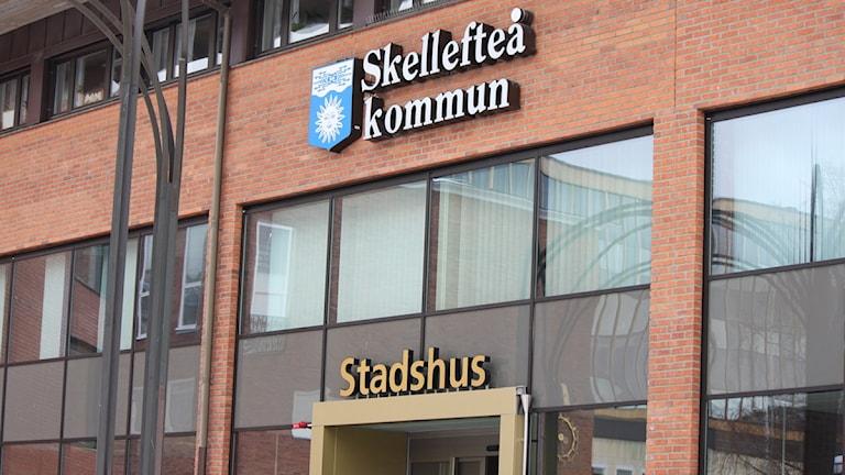 Skellefteå kommun Foto: Elin Segerlind/Sveriges Radio