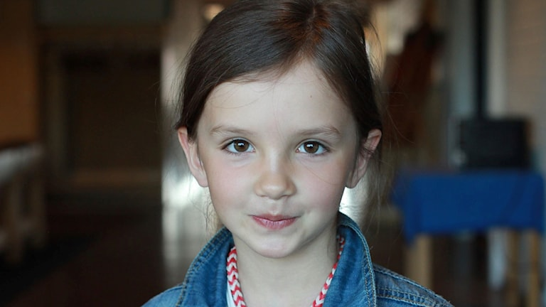 Linnea från Åsele tycker mest om skolan och skolmaten
