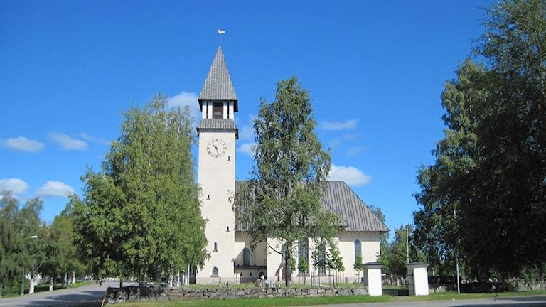 Burträsk kyrka Foto: Linda Carlsson