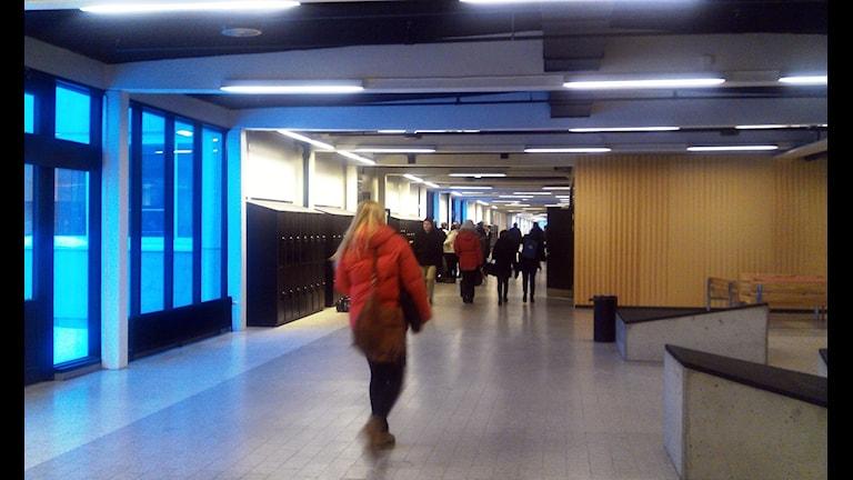 Elever på Dragonskolan i Umeå, Foto: Åsa Sundman/SR.