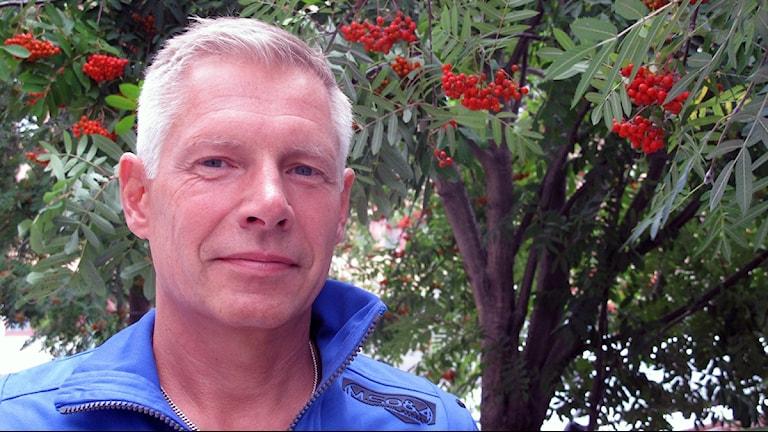 Kristdemokraten Anders Sellström, Foto: Anna Burén/SR.