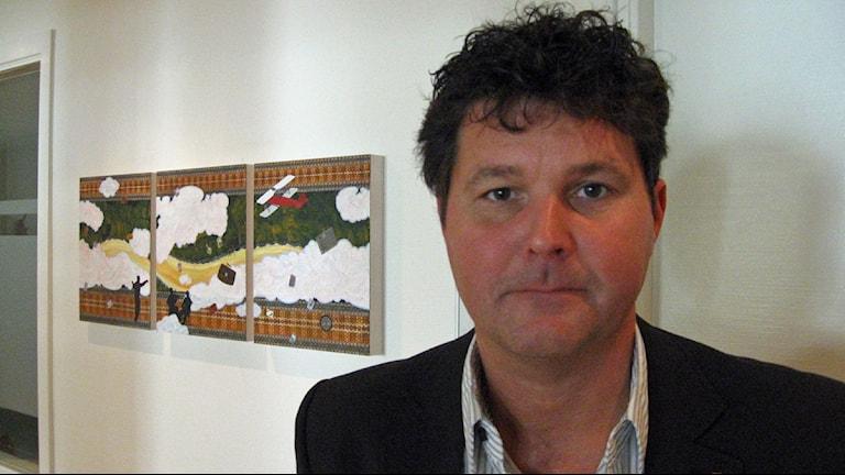 Peter Olofsson, socialdemokratiskt landstingsråd i Västerbottens län. Foto: Maria Ågren/SR
