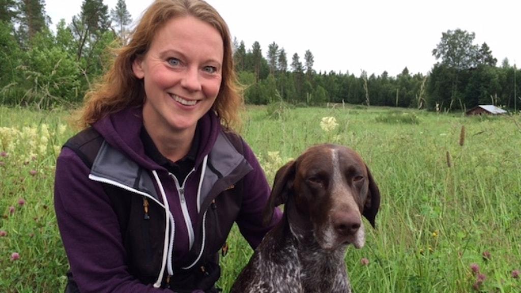Susanne Lindberg och Hagel Foto Åza Meijer