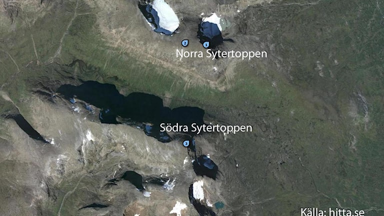hitta.se karta över sytertopparna