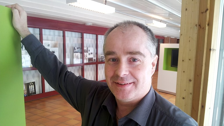 Peter Lundmark måltidschef Skellefteå kommun Foto: Magnus Bergner/SR