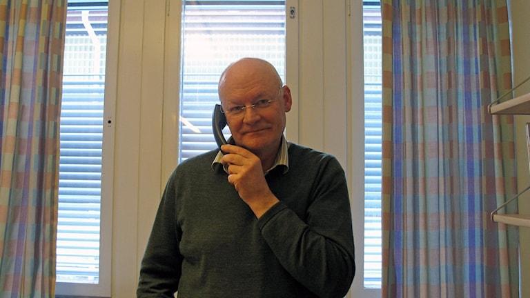 Primärvårdschef Håkan Larsson. . Foto: Anna Burén/Sveriges Radio.