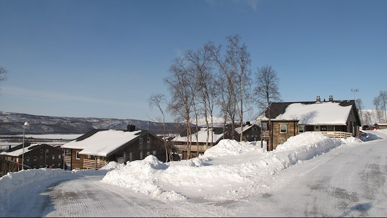 Fritidshus i Hemavan, Foto: Anna Burén/SR.