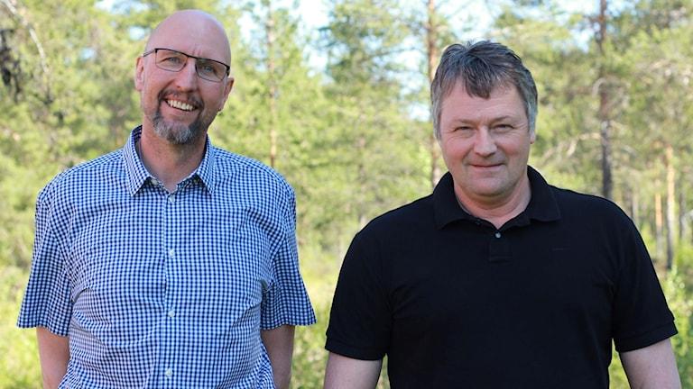 Kjell Öjeryd V och Fred Stövset S