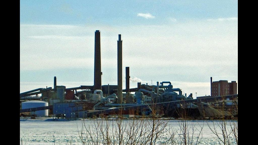 Bolidens smältverk Rönnskärsverken i Skelleftehamn