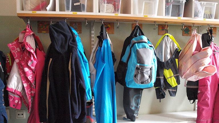 Barnkläder på förskola