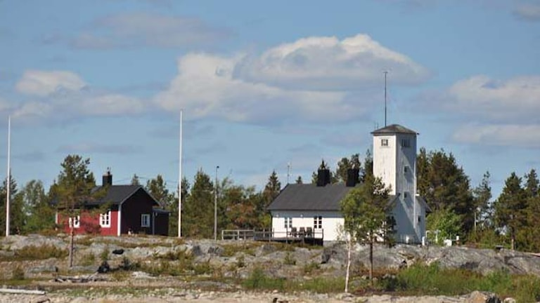 Lotshuset i Järnäsklubb. Foto: Privat.