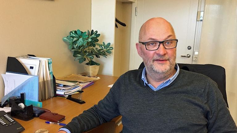 Lennart Melin, verksamhetschef i Lycksele