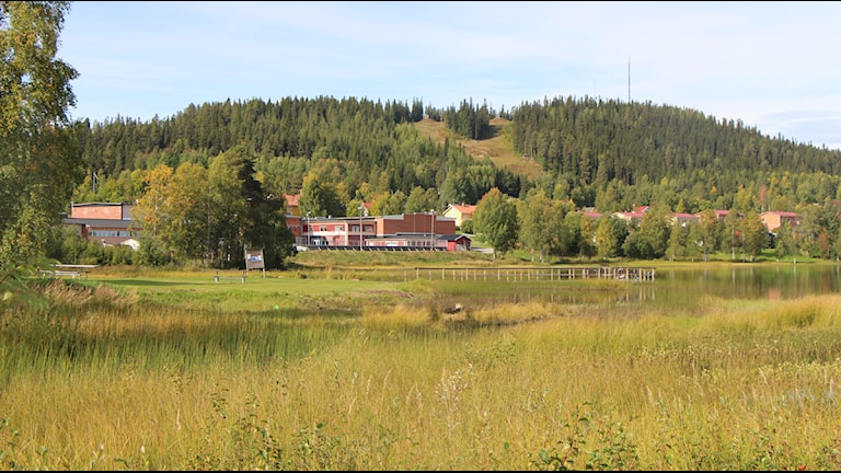 Utsikt vidBergvattensjön i Dorotea Foto: Helena Andersson/Sveriges Radio