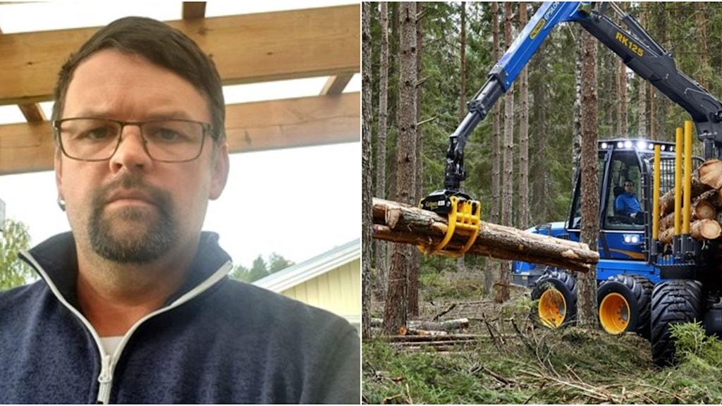 Fredric Boström är klubbordförande i Unionen