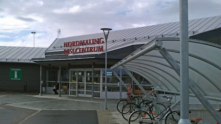 Nordmaling resecentrum, entrén
