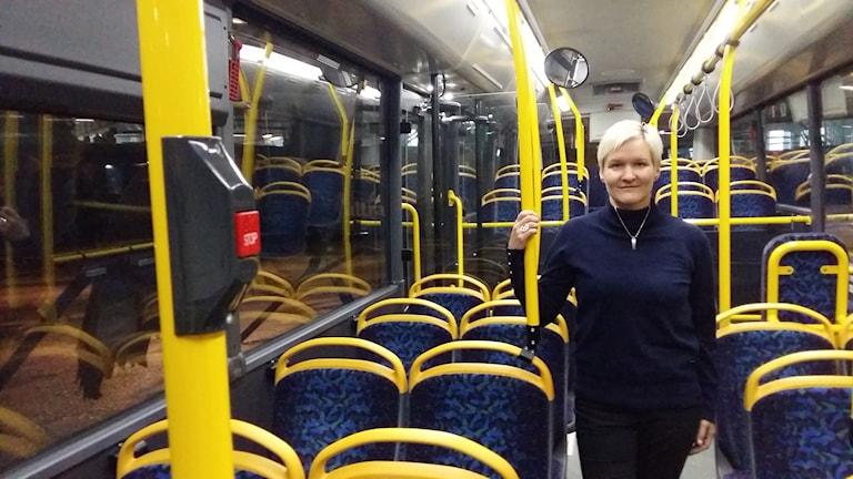Camilla Nordlund, affärschef på Transdev.