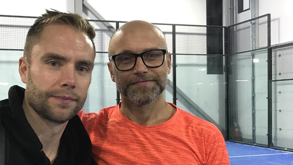 Anton Lundberg och Mats Danson.