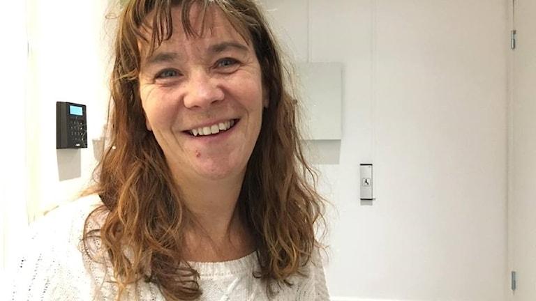 Åsa Norin, Nätverksledare för Vän i Umeå Foto: Madeleine Harrati/SR Västerbotten