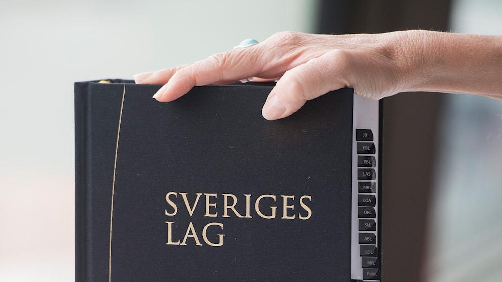 Lagbok. Sveriges lag 2018