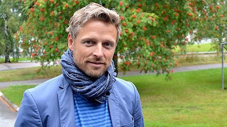 Psykolog Per Höglund från Sävar. Foto: Jonna Spiik/SR