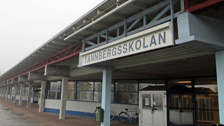 Tannbergsskolan i Lycksele. Foto Örjan Holmberg/SR.