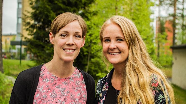 Tinna Sandström och Hanna Sondell