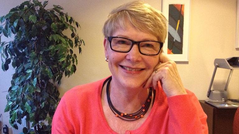 Birgitta Nordvall (KD). Foto: Mikaela Pallin/Sveriges Radio.