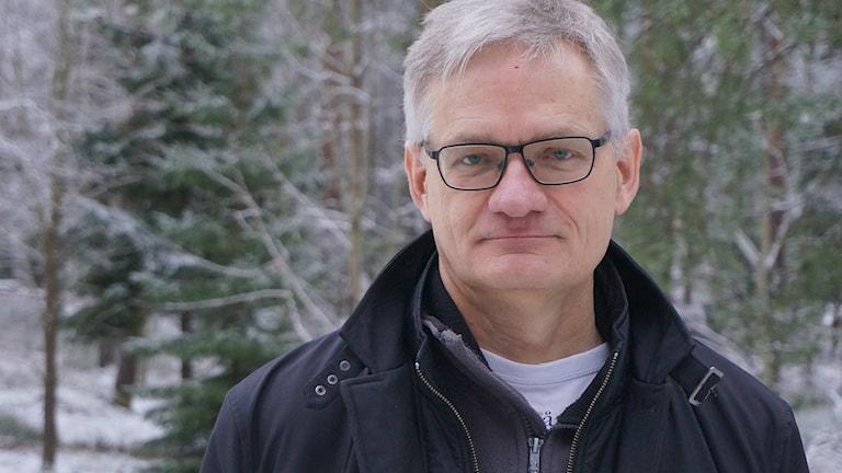 Anders Lidström, professor statsvetenskap. Foto Lari Honkanen/Sveriges Radio