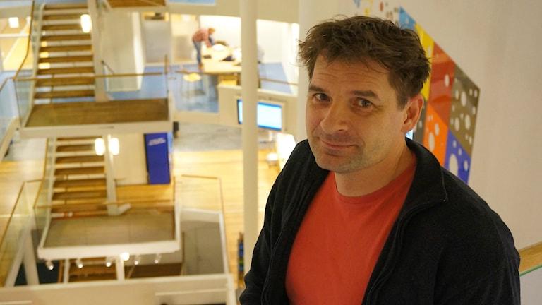 Magnus Blomgren, statsvetare Umeå universitet. Foto Lari Honkanen/Sveriges Radio