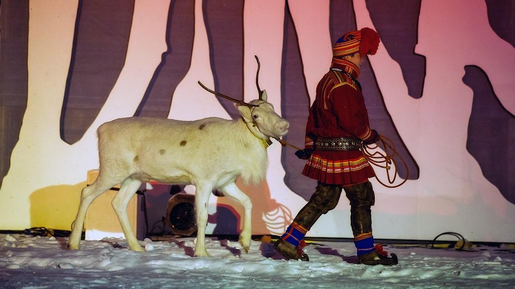 Samer i fokus under invigningen av kulturhuvudstadsåret. Foto: Håkan Larsson