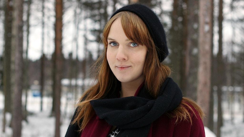 Clara Lidström Foto: Helena Andersson/Sveriges Radio