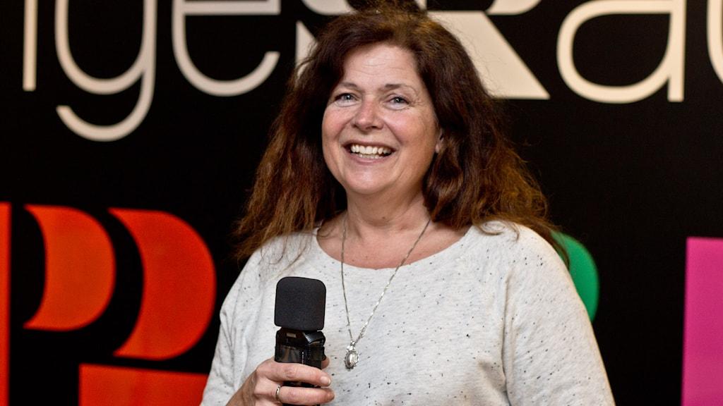 Karin Grönberg. Foto: Helena Andersson/Sveriges Radio