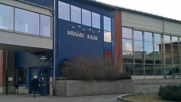 Midgårdsskolan, Umeå. Foto: Peter Öberg, Sveriges Radio.