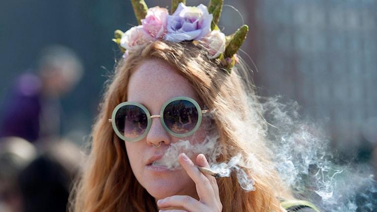 Cannabis bland unga ökar Foto:Justin Tang SCANPIX