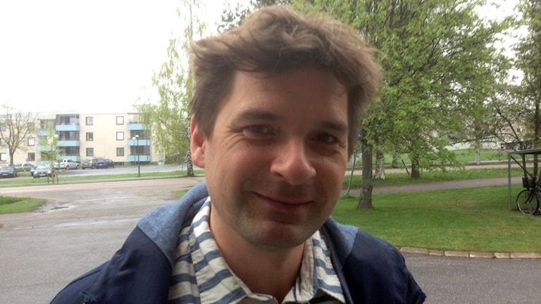 Magnus Blomgren, statsvetare Umeå universitet. Foto: Erica Dahlgren/Sveriges Radio