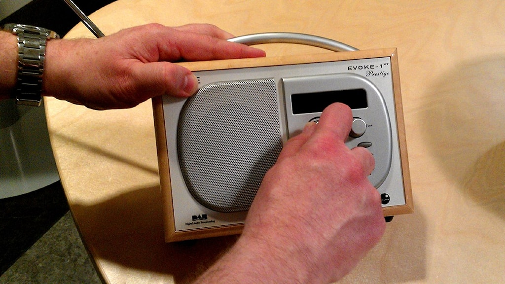 Radioapparat.