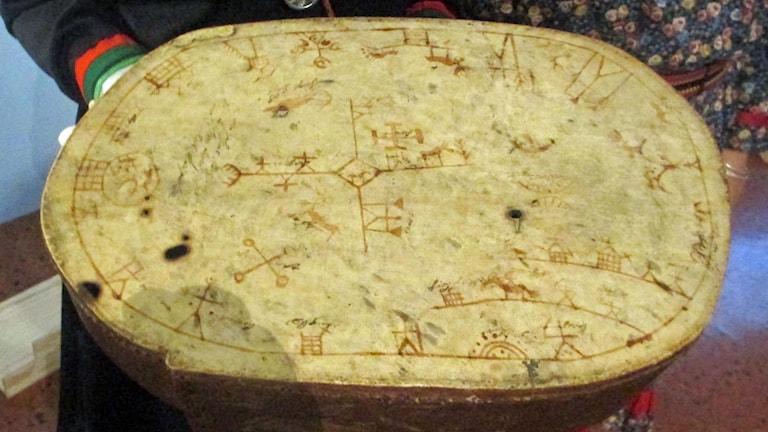 Den samiska trumman från Lycksele