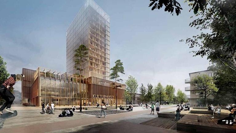Skellefteås nya kulturhus