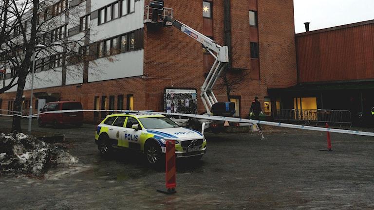Polisen sätter upp kamera på Ålidhem