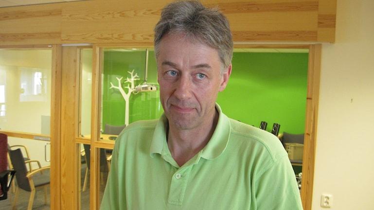 Lars Hedqvist, Skellefteå Kommuns planeringschef