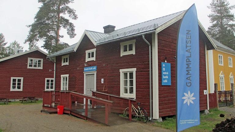 Det nya entrehuset på Gammplatsen