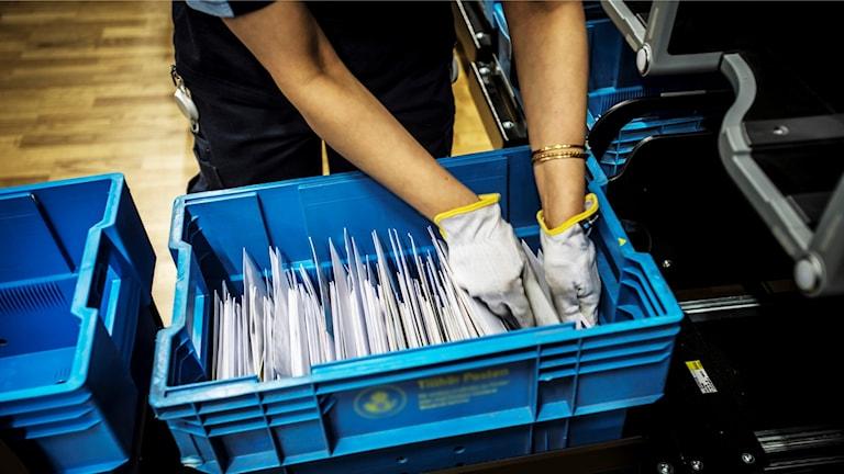 Postsortering