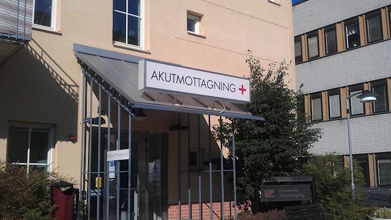 Akuten, Aktumottagning NUS Umeå. Foto: Lillemor Strömberg/Sveriges Radio