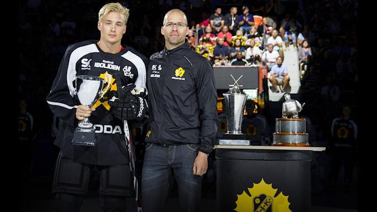 Adam Petterson assisterande lagkapten i Skellefteå AIK. Foto Skellefteå AIK.