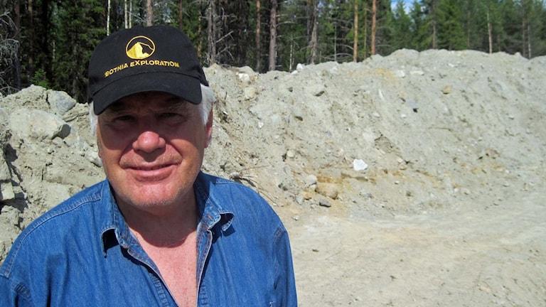Bengt Ljung VD för Botnia Exploratin