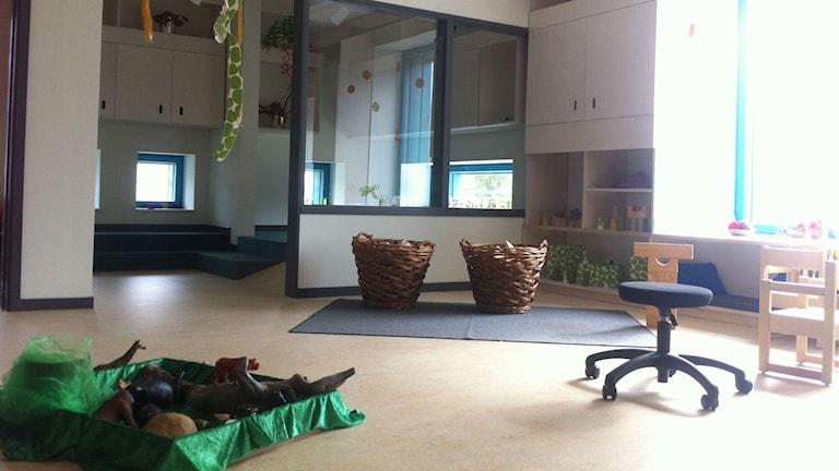 Hedlunda förskola har ett tydligt genusperspektiv Foto:Joakim Silverdal/SR