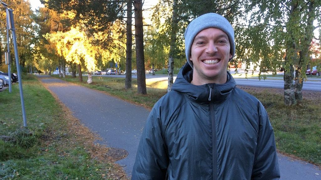 Wictor Lundström. Foto: Peter Öberg, Sveriges Radio.