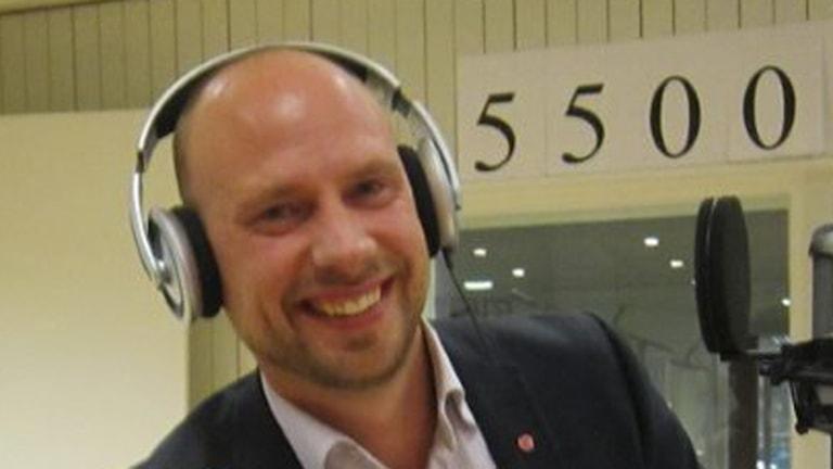Hans Lindberg (S) Umeås nya kommunalråd. Foto: Erica Dahlgren/SR