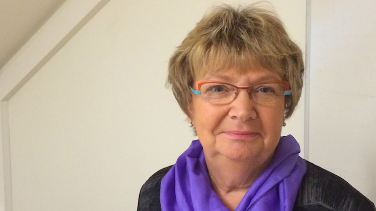Magdalena Andersson, landshövding i Västerbotten. Foto: Åsa Sundman/SR.